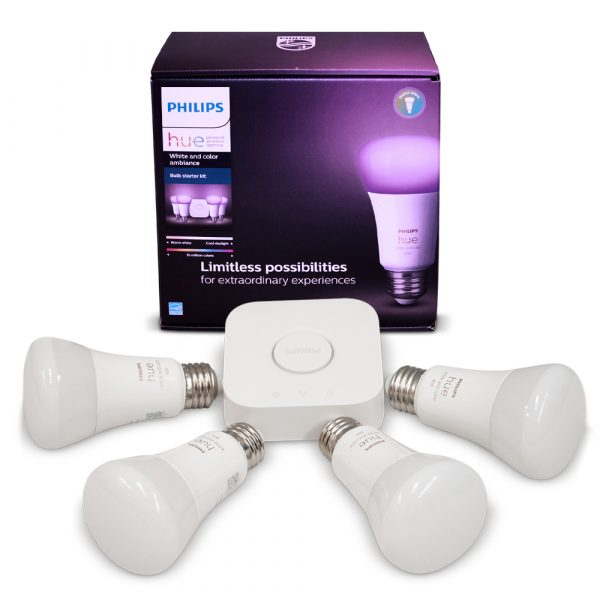 Kit Lámparas LED HUE 10w